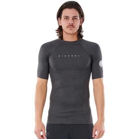 Rip Curl Down Patrol SS UV Shirt Men black marled